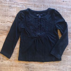 Gapkids black top in size XS (4-5)